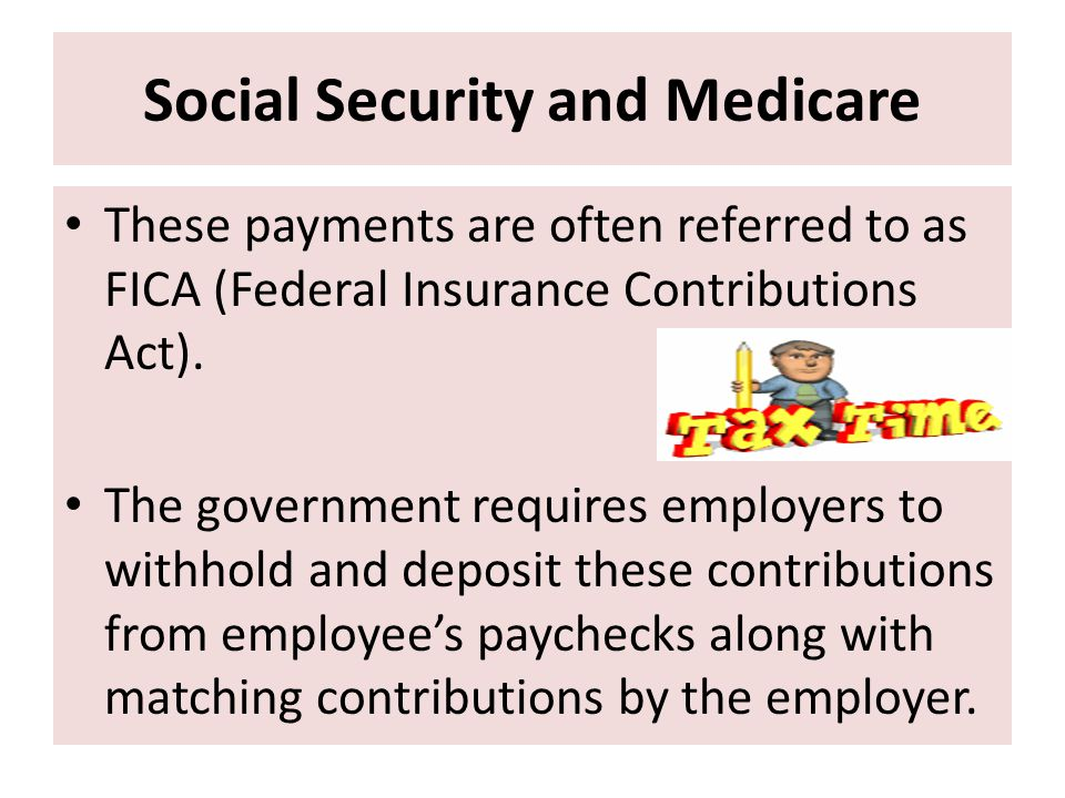 Social Security and Medicare