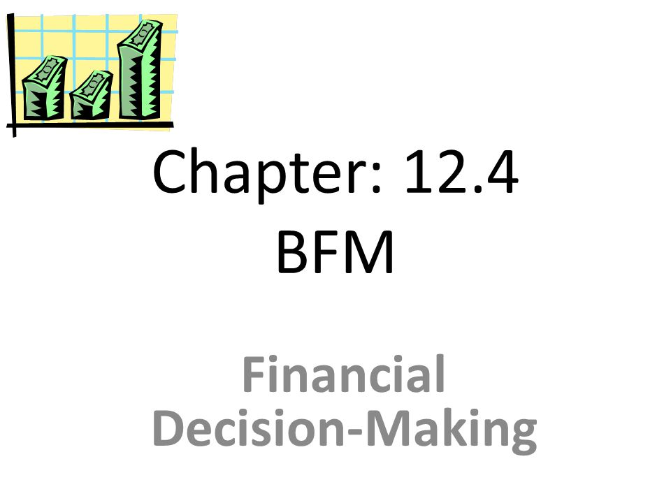 Financial Decision-Making