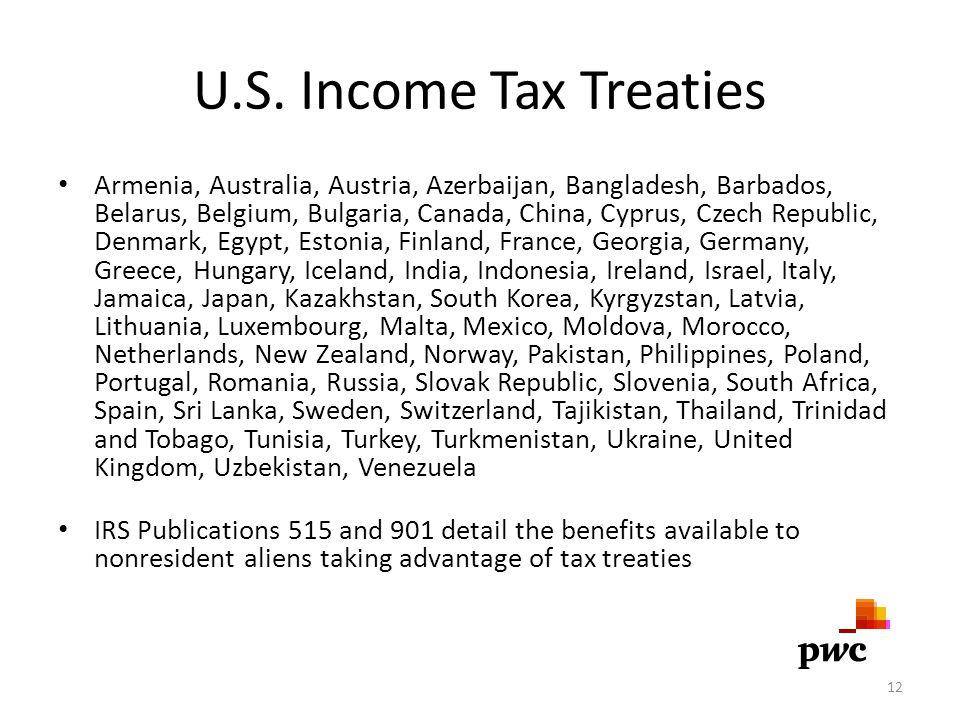 U.S. Income Tax Treaties