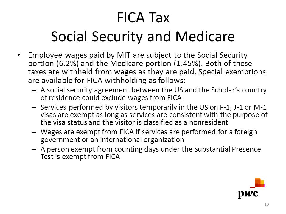 FICA Tax Social Security and Medicare