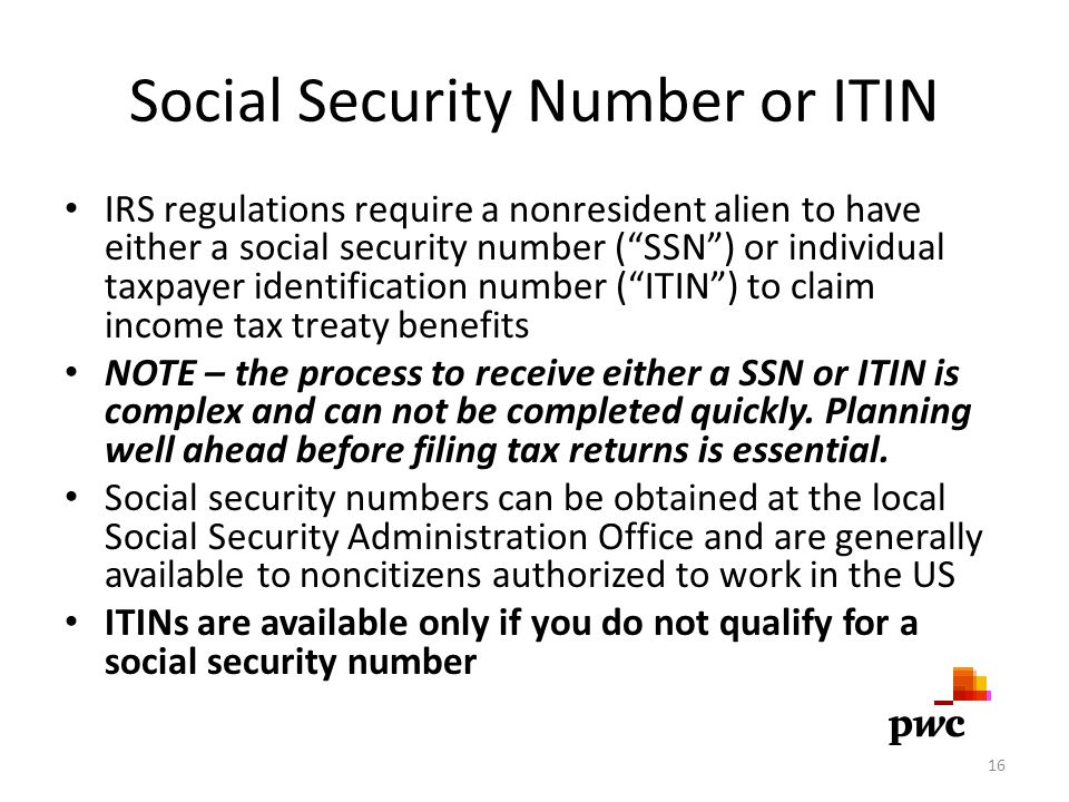 Social Security Number or ITIN