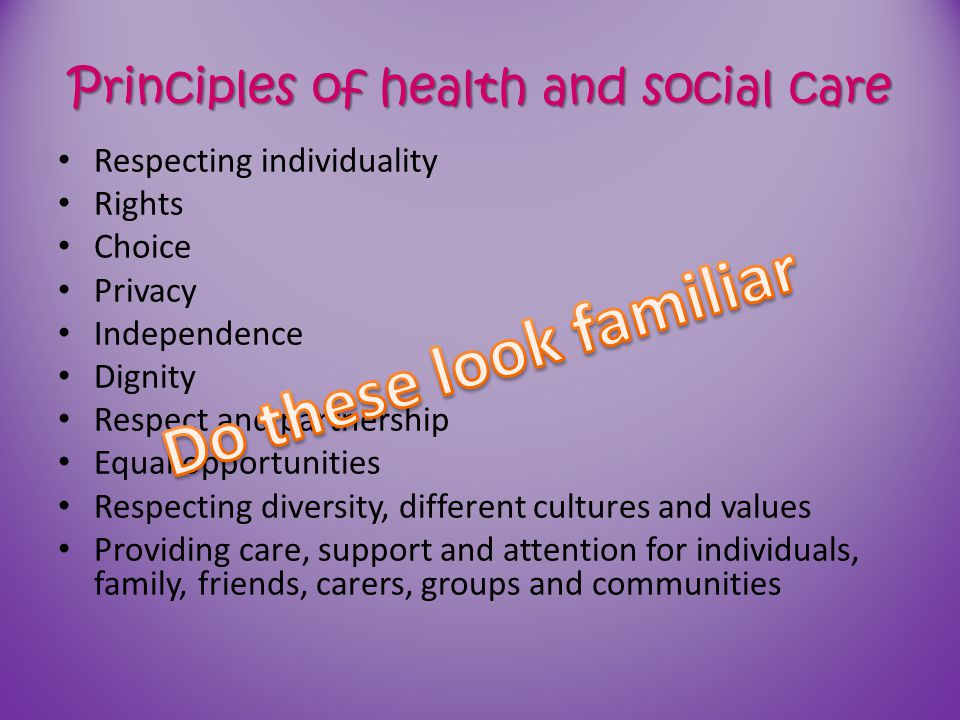 Fundamental standards: improving quality and transparency in care