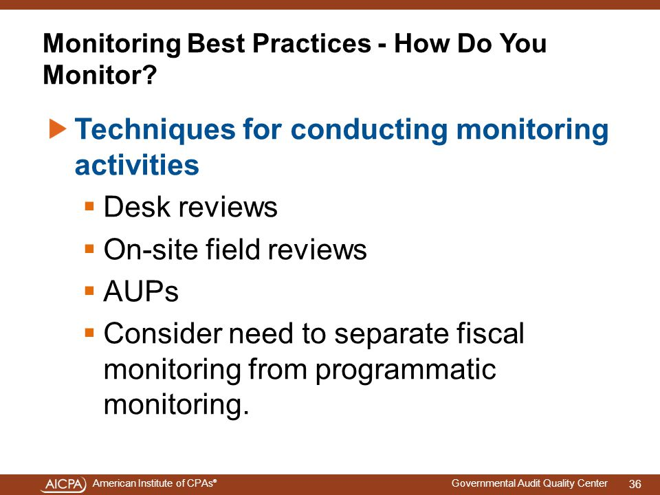 Monitoring Best Practices - How Do You Monitor
