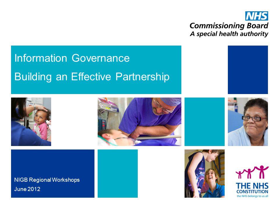 Information Governance Building an Effective Partnership