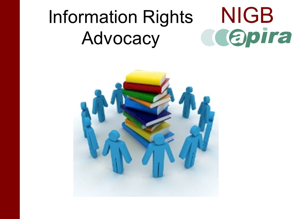 Information Rights Advocacy