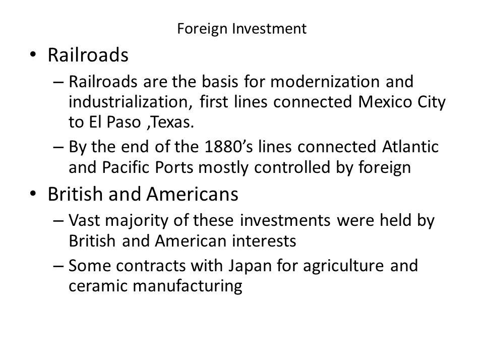 Railroads British and Americans