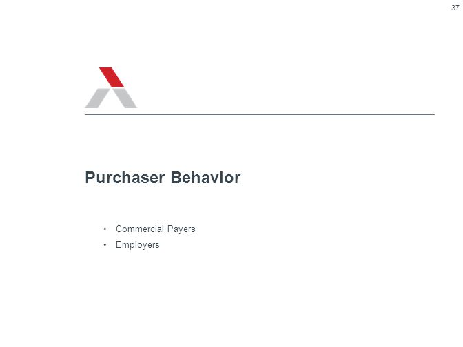 Purchaser Behavior Commercial Payers Employers