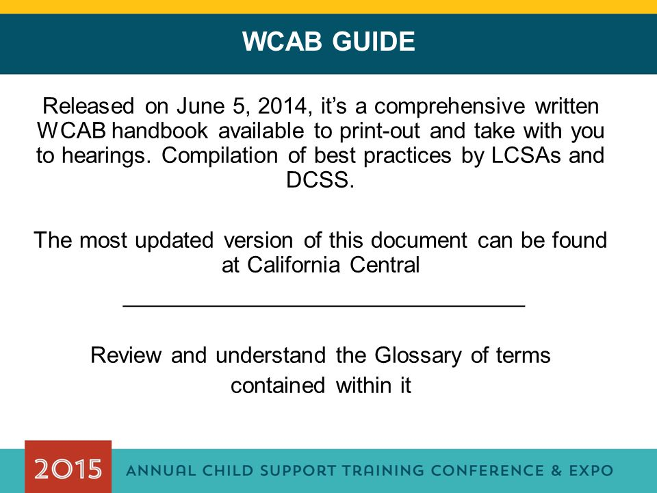 WCAB GUIDE