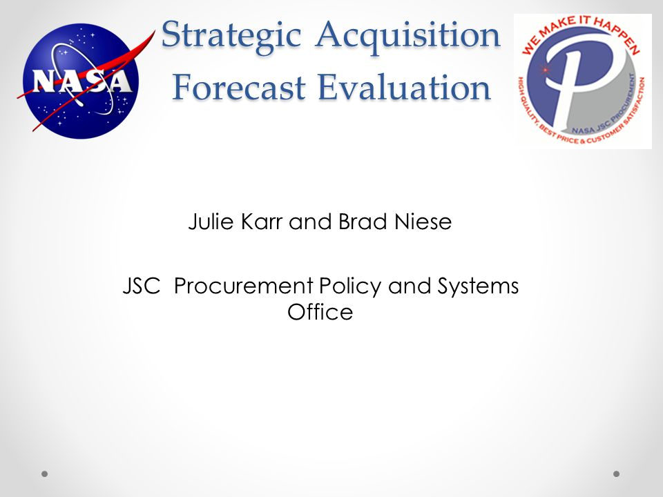 Strategic Acquisition Forecast Evaluation