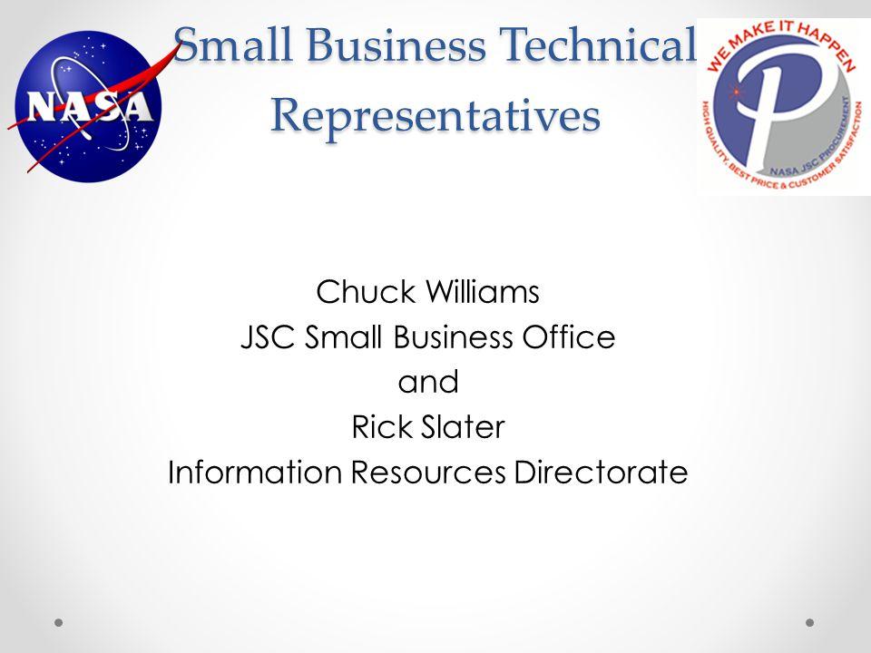 Small Business Technical Representatives