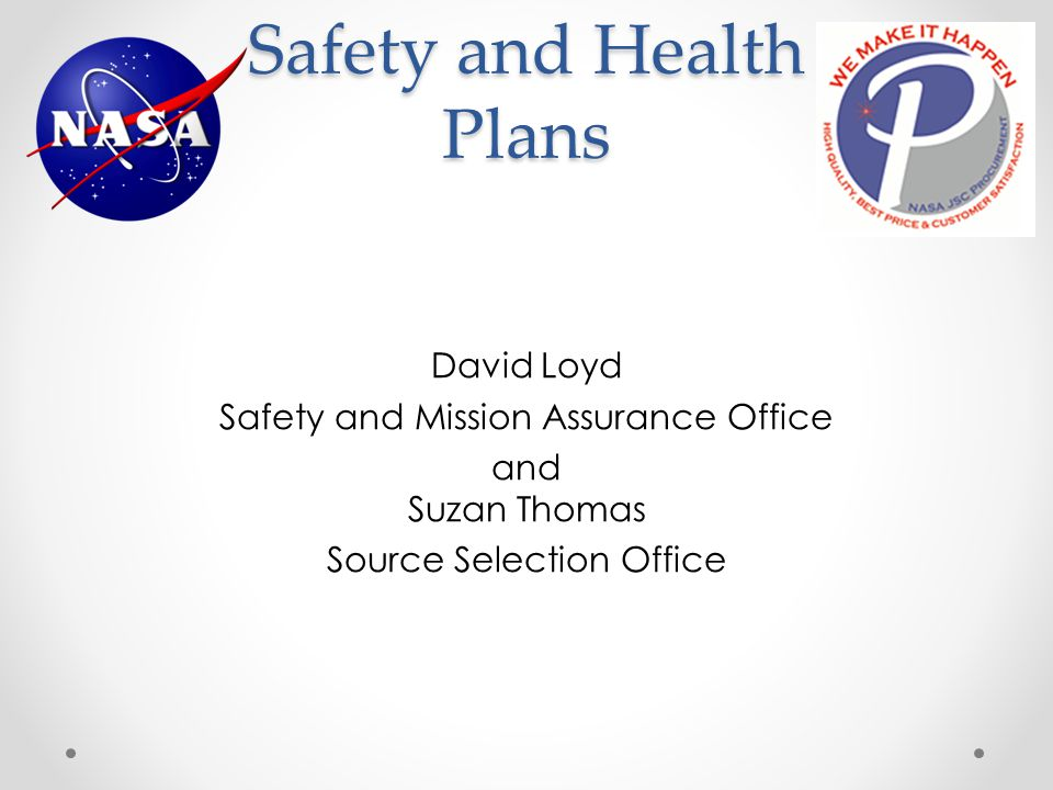Safety and Health Plans