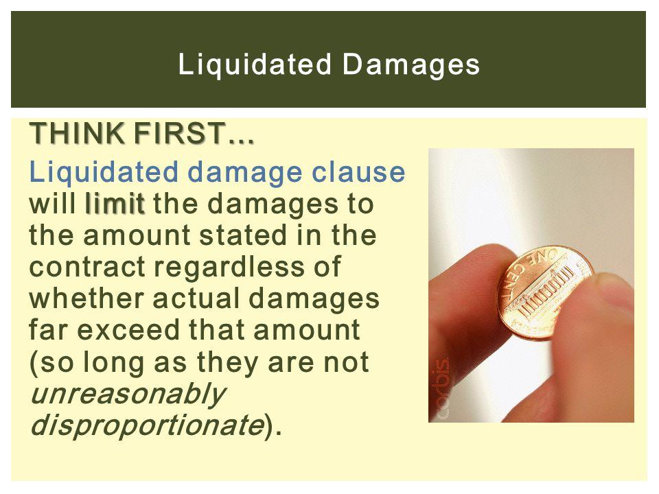 Liquidated Damages