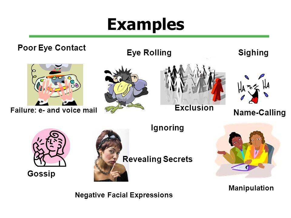 Negative Facial Expressions