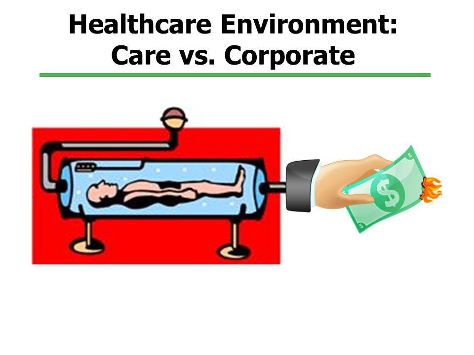 Healthcare Environment: