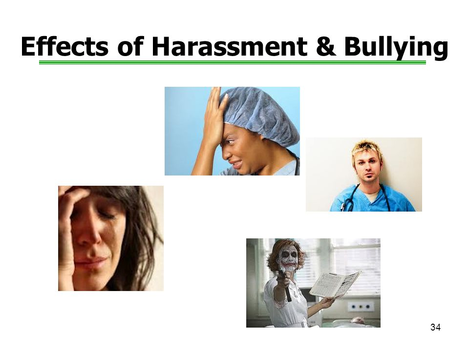 Effects of Harassment & Bullying