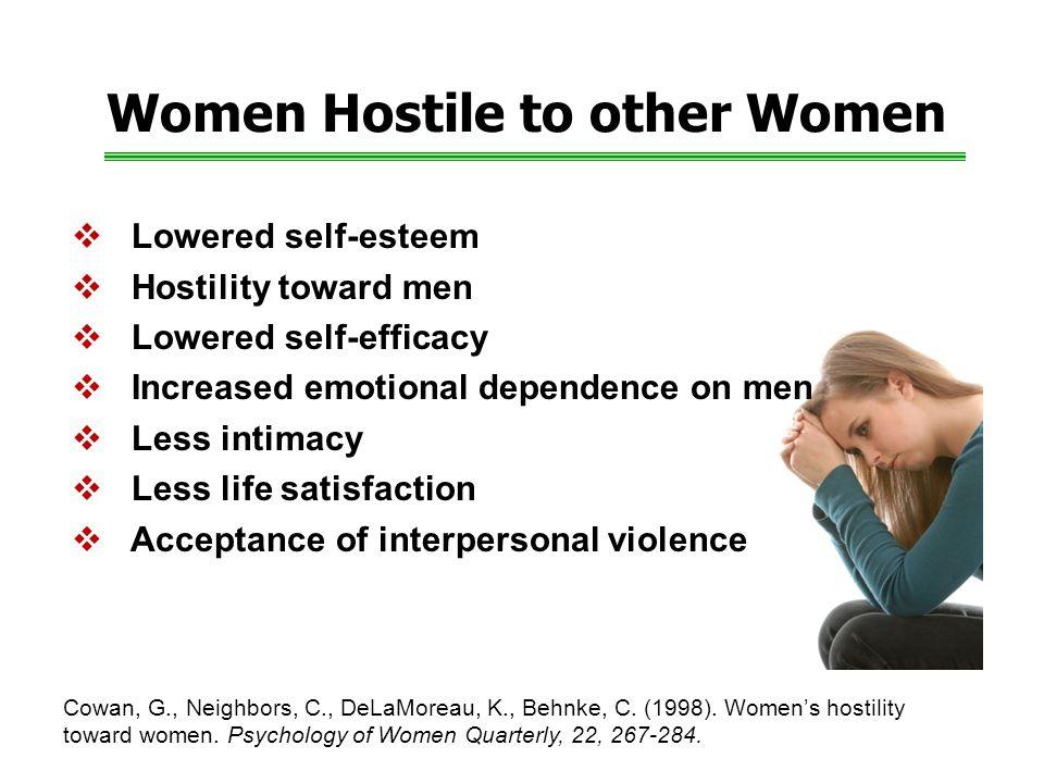 Women Hostile to other Women