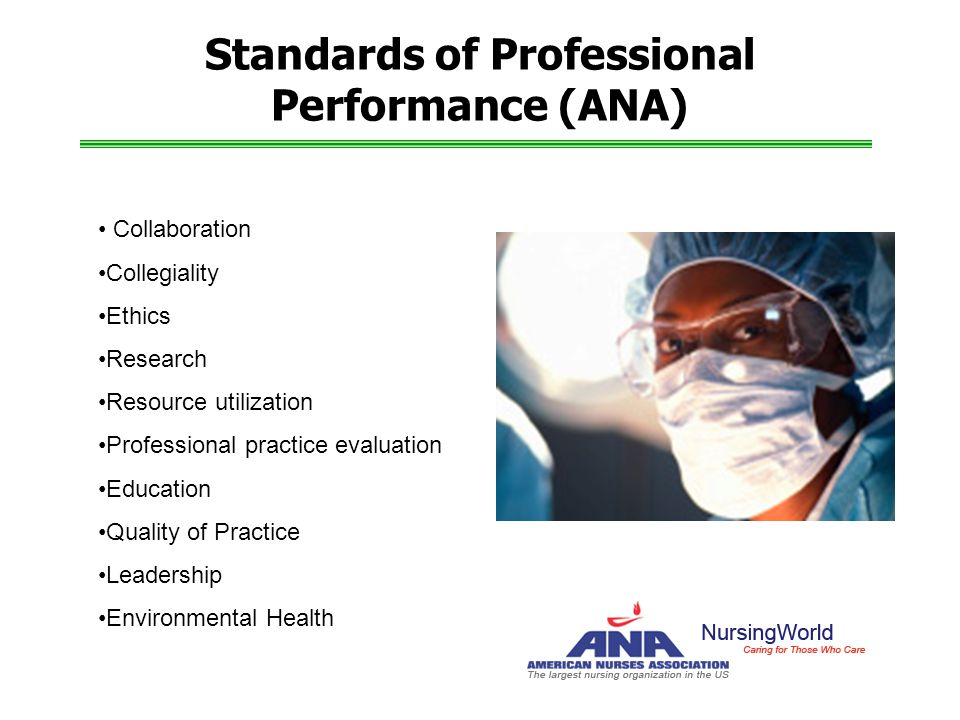 Standards of Professional Performance (ANA)