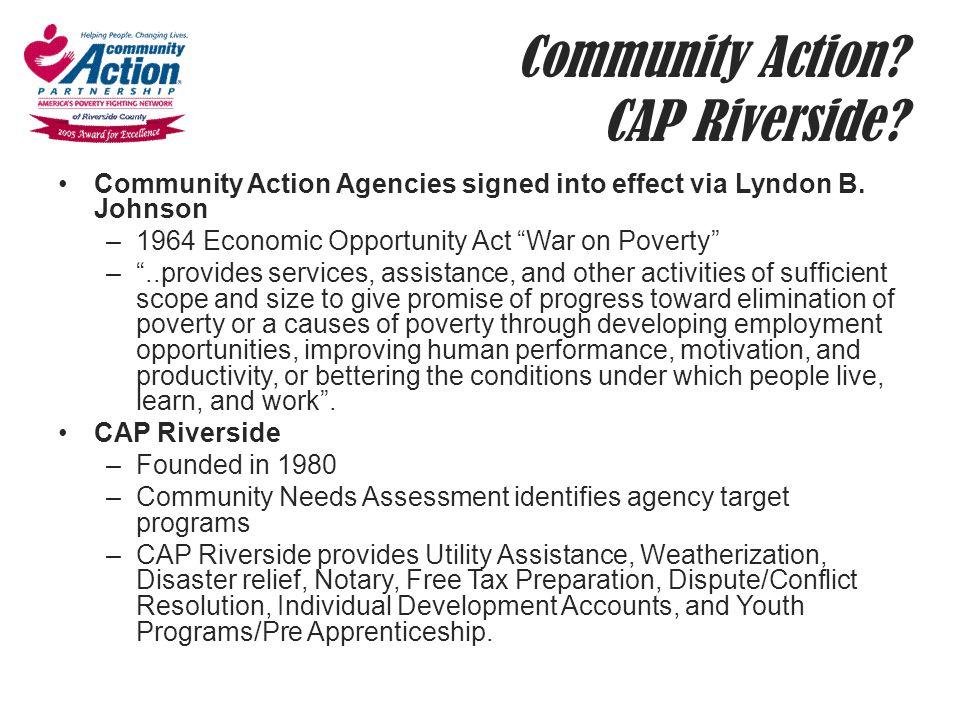 Community Action CAP Riverside