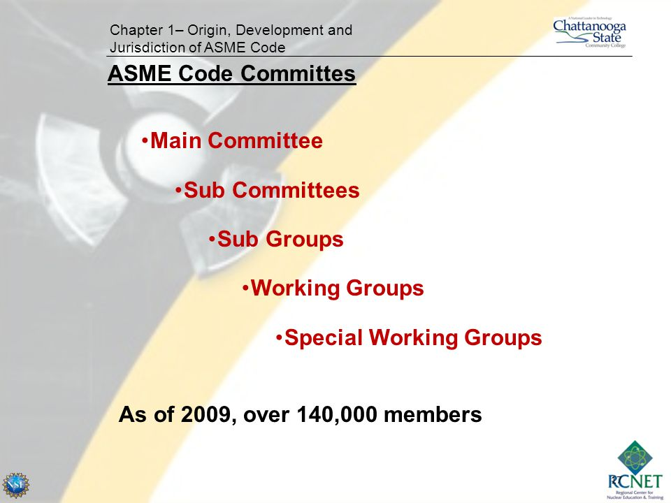 Special Working Groups