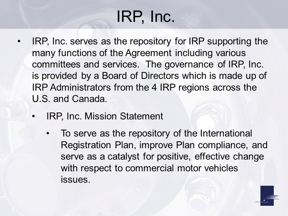 IRP, Inc.