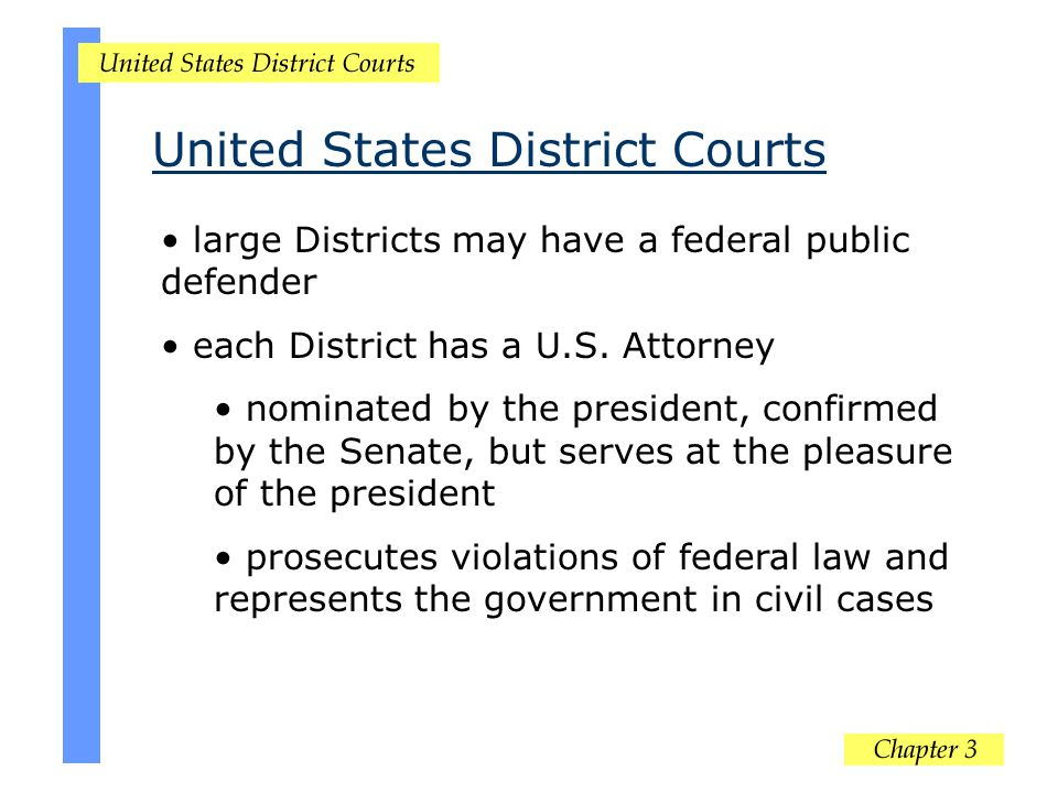 United States District Courts