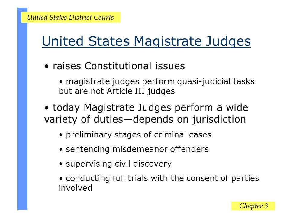 United States Magistrate Judges