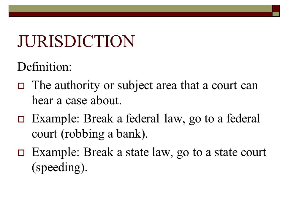 CHAPTER 18 FEDERAL COURT SYSTEM. - ppt download