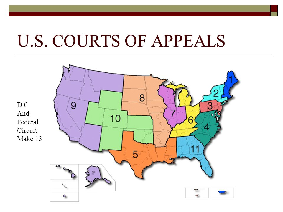 U.S. COURTS OF APPEALS D.C And Federal Circuit Make 13
