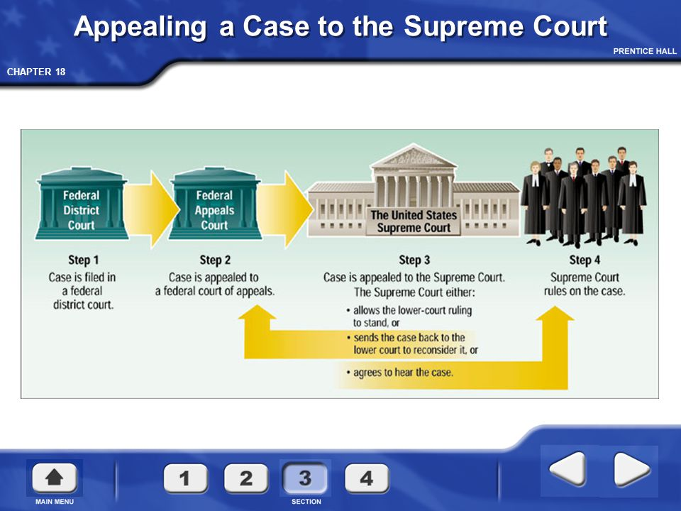 Appealing a Case to the Supreme Court