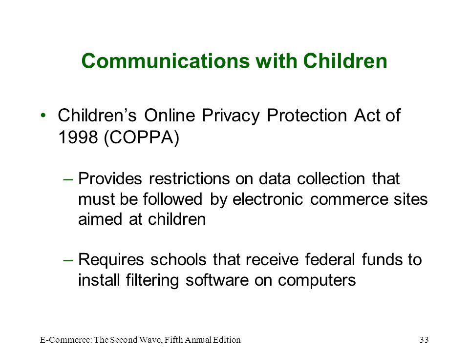 Communications with Children