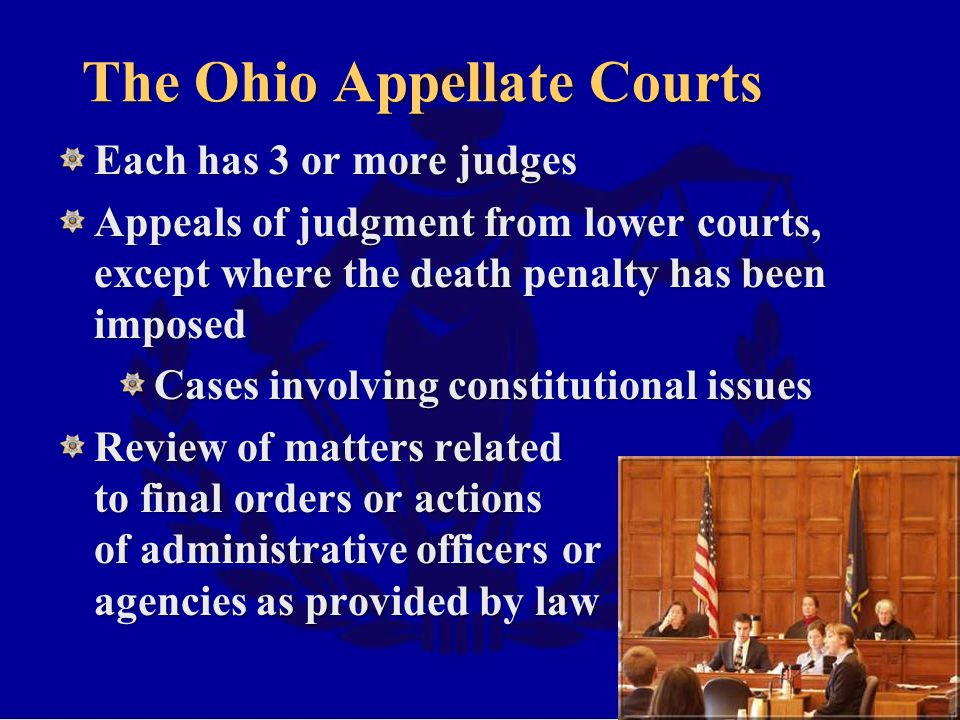 The Ohio Appellate Courts