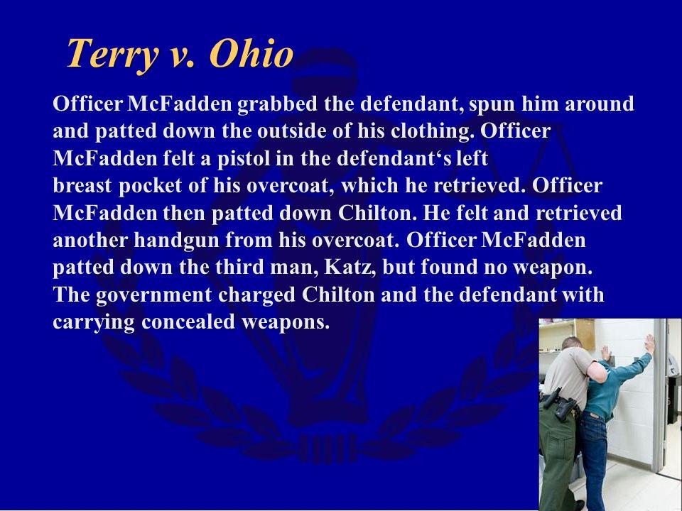 Terry v. Ohio