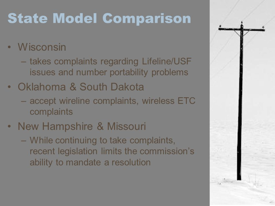State Model Comparison