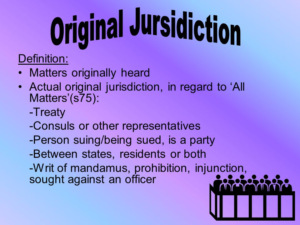 Original Jursidiction