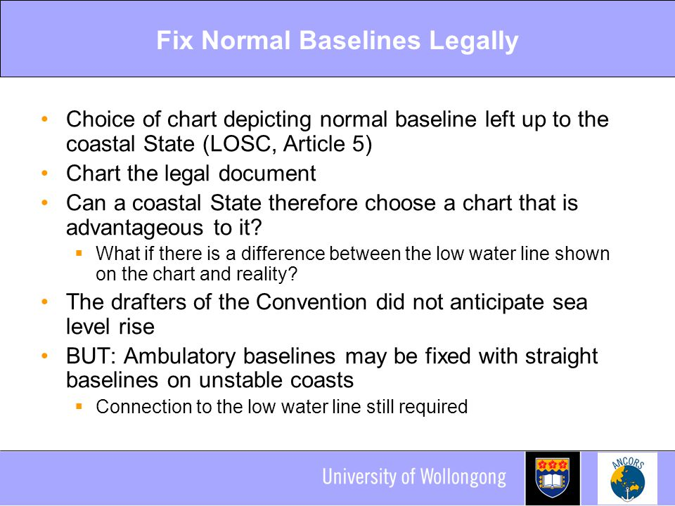 Fix Normal Baselines Legally