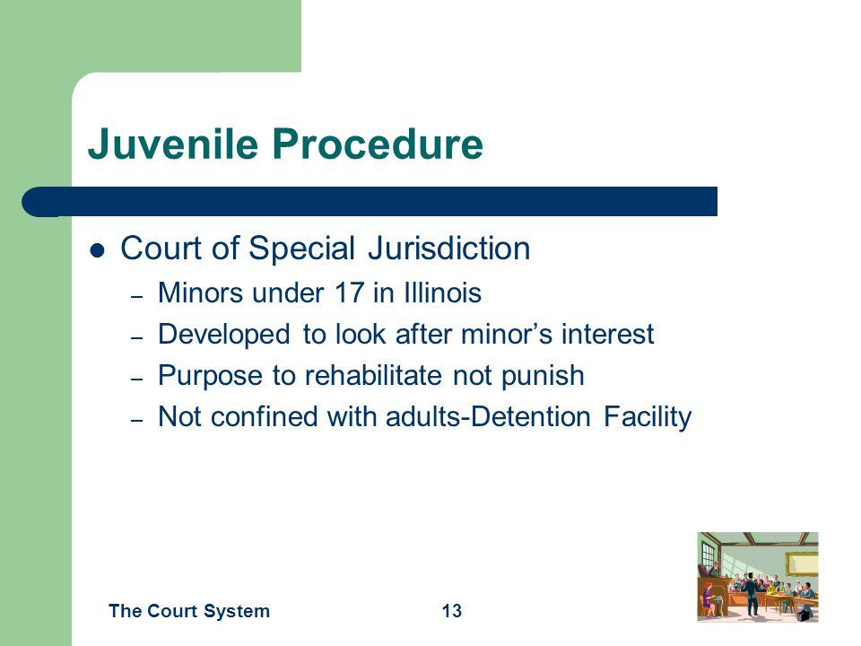Juvenile Procedure Court of Special Jurisdiction