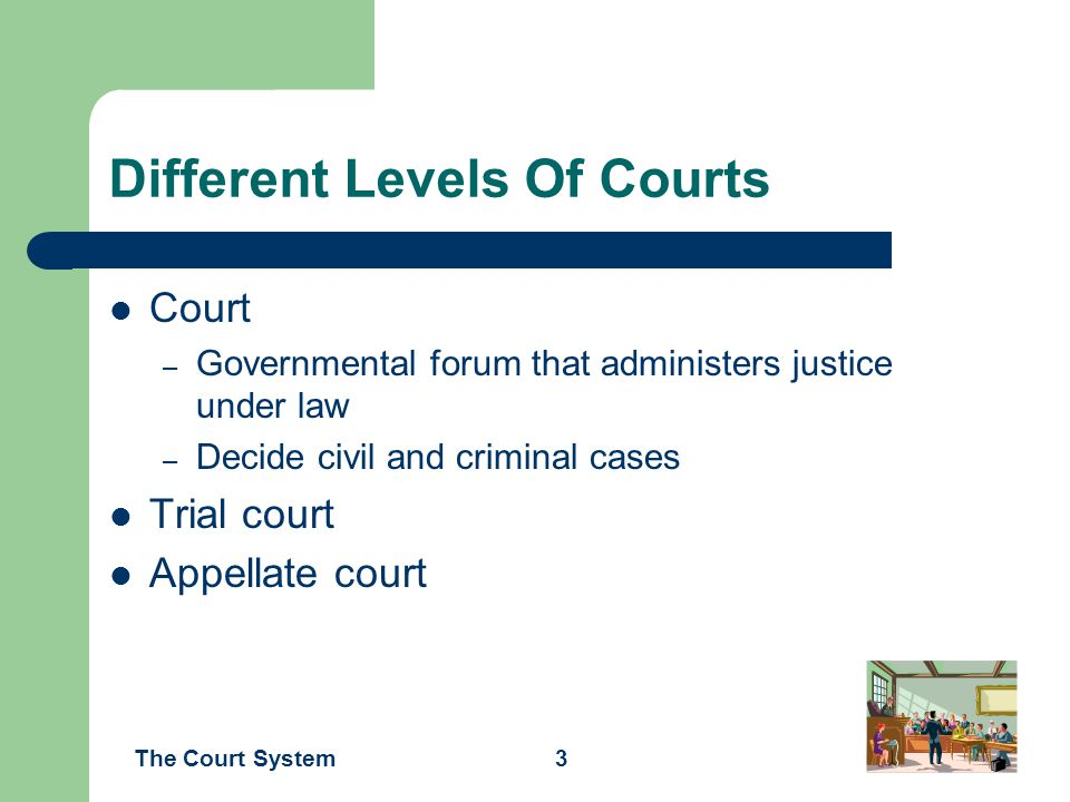 Different Levels Of Courts