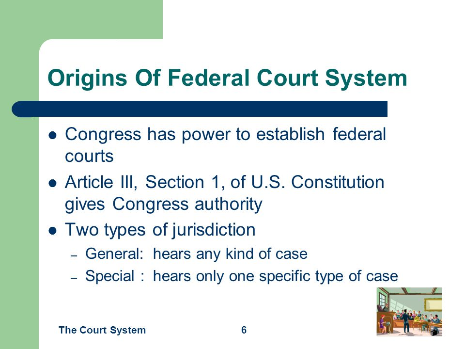 a court for special jurisdiction and a court for general jurisdiction One of the most fundamental questions of law is whether a given court has jurisdiction to preside over a given case state courts have general jurisdiction.