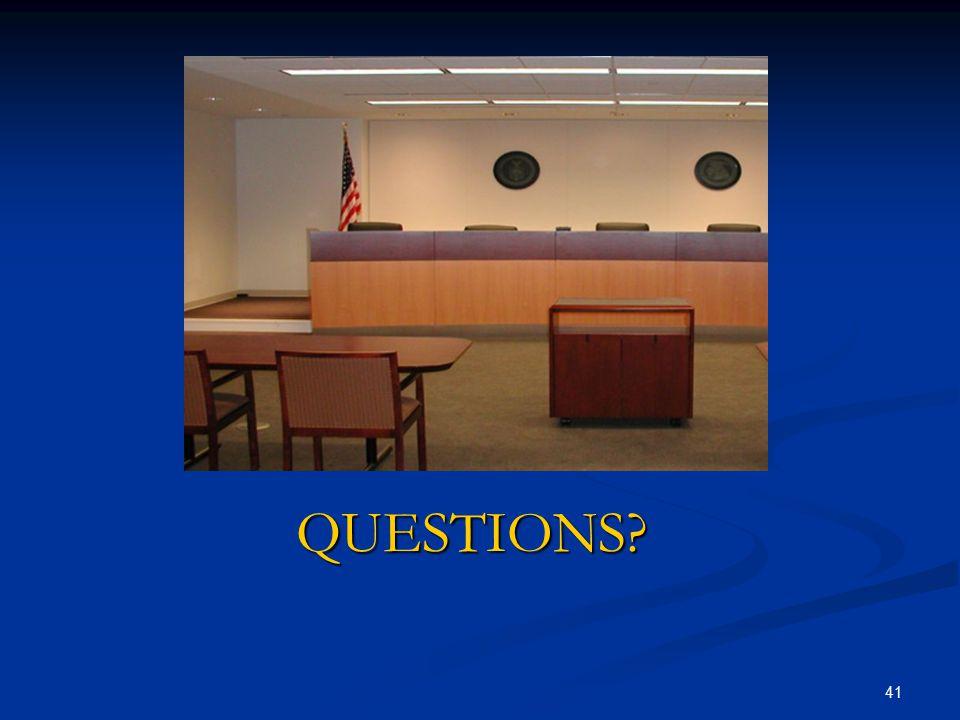 April 15, 2017 QUESTIONS