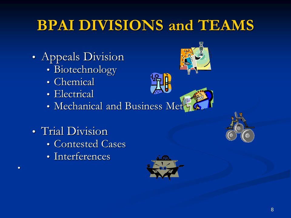 BPAI DIVISIONS and TEAMS