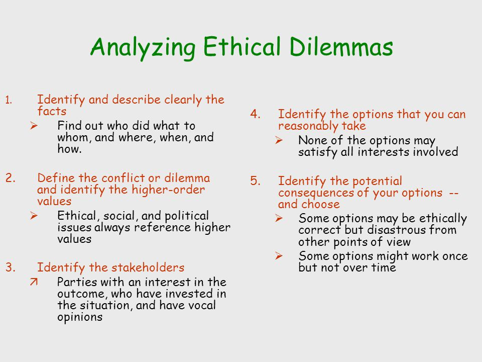a description of the ethical issues involved in floridas Complaints involving an allegation of a violation that would constitute a violation of the state statutory code of ethics may be referred to the florida commission on ethics complaints, as this course, developed by the office of general counsel, outlines ethical issues that department employees may face this course is.