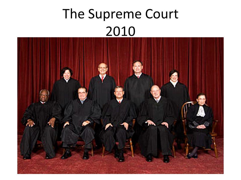 The Supreme Court 2010
