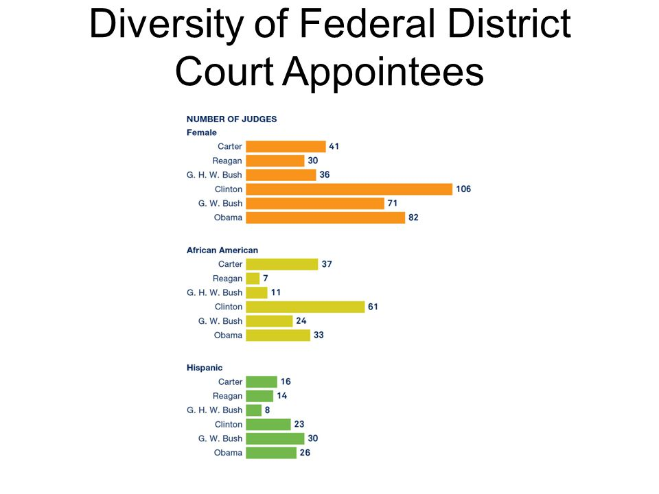 Diversity of Federal District Court Appointees
