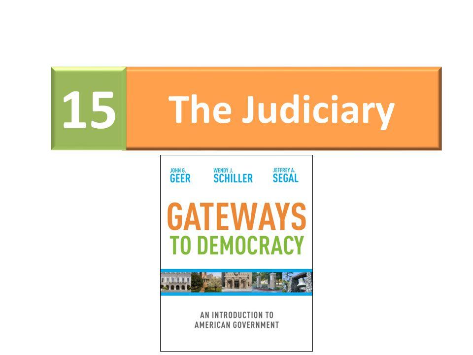 15 The Judiciary