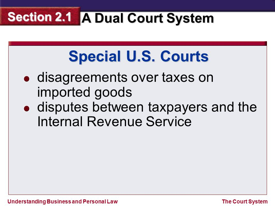 Special U.S. Courts disagreements over taxes on imported goods