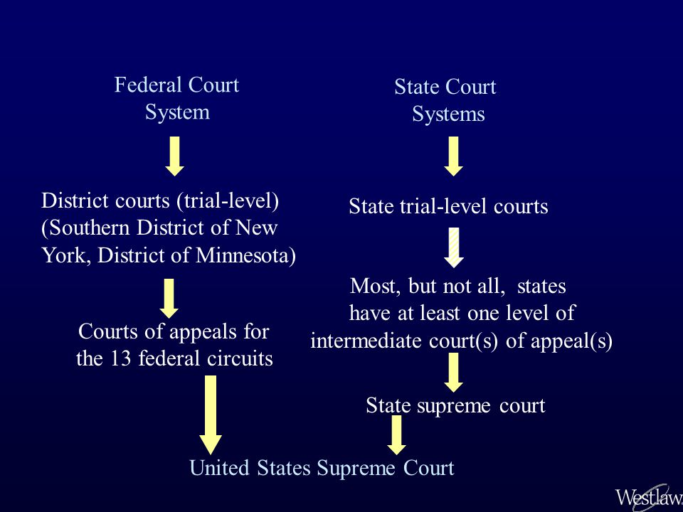 District courts (trial-level) (Southern District of New
