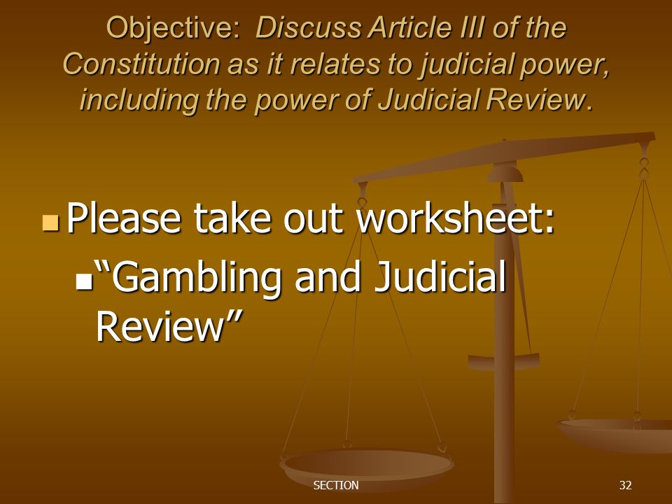 The Federal Court System - ppt video online download