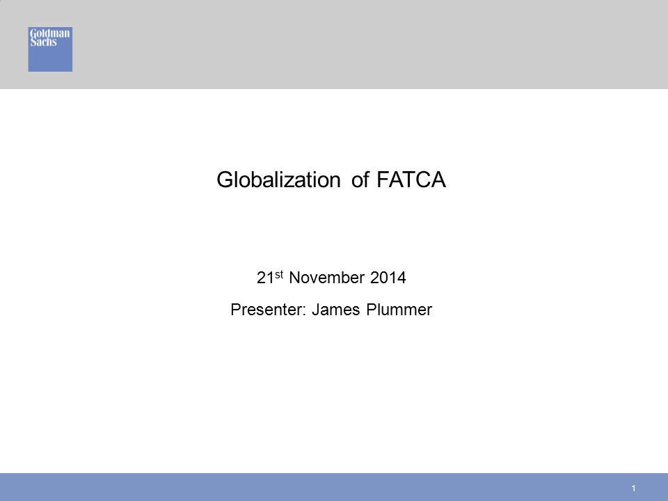 Globalization of FATCA