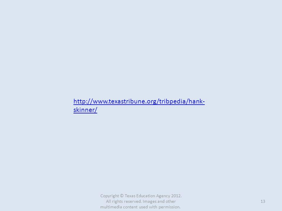 http://www.texastribune.org/tribpedia/hank-skinner/