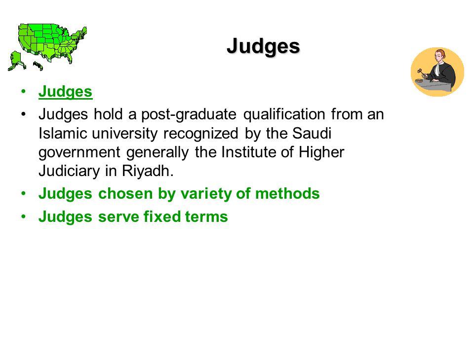 Judges Judges.